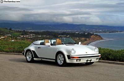 1989 Porsche 911 Speedster: 3,767 Miles, 100% Orig
