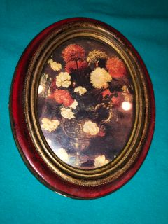 Vintage Made In Italy Small Picture Frame. Back Of Frame Has Embossed Made In Italy