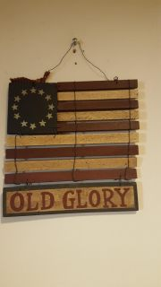 Wooden ready to hang