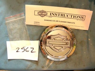 Purchase Item # 2562 Harley Diamond Ice Air Cleaner trim for 08 later Dyna motorcycle in Laurel, Delaware, US, for US $22.99