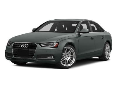 2015 Audi A4 2.0T quattro Premium Plus (Brilliant Black)