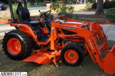 For Sale: 2007 Kubota B7610 HST, 4WD, Loader and Belly Mower