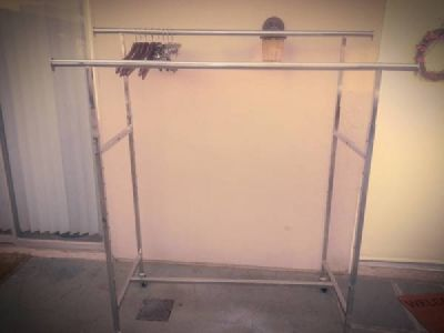 Clothing Racks and store fixtures