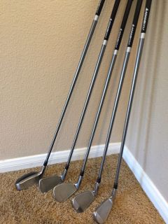 Adams A305 irons and 4 hybrid club
