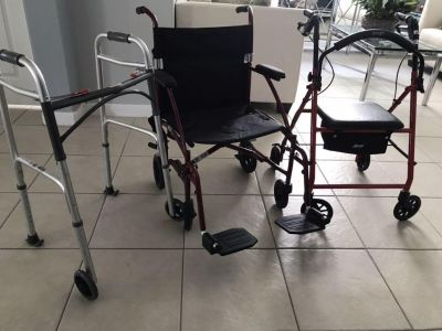 Wheelchair and Walker