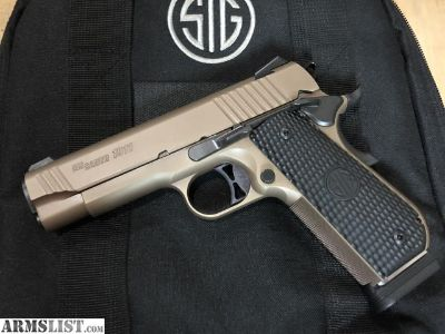 For Sale/Trade: Sig Emperor Scorpion carry 1911