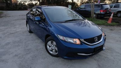 2013 Honda Civic LX (Blue)