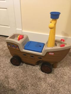 Little Tikes Riding Boat Toy