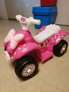 Minnie Mouse Toddler 4wheeler