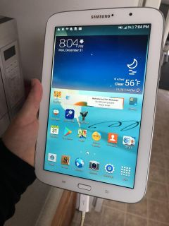 Samsung tablet with otter box case