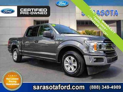 2018 Ford F-150 XLT*2.7L ECOBOOST*REAR VIEW CAMERA*TRAILER HITCH*FORD CERTIFIED*