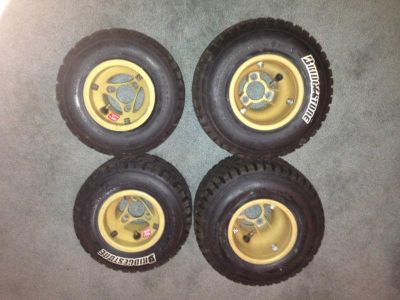 Purchase Bridgestone Race Kart Rain Tires and Rims motorcycle in Miami, Florida, US, for US $25.00