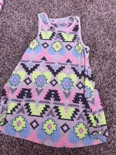 Justice tank top size 8