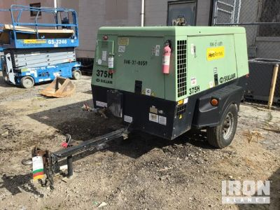 2010 Sullair 375H JD3 375 CFM Air Compressor