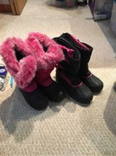 Girl s Snow Boots Size 6