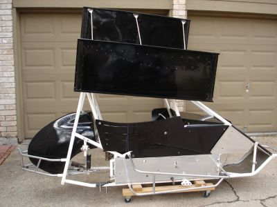Micro Sprint Chassis and Body Panels For Sale