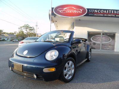 2003 Volkswagen New Beetle GLS (Blue)