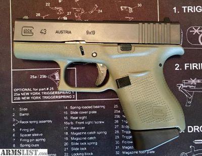 For Sale: Glock 43 Gen 4 - OD Green BNIB