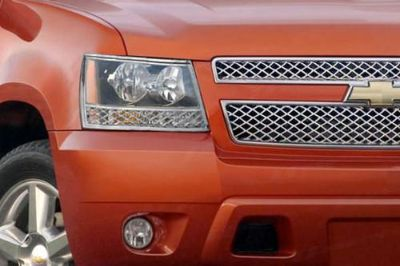 Sell SES Trims TI-HL-102 Chevy Avalanche Headlight Bezels Covers Chrome Ring Trim 3M motorcycle in Bowie, Maryland, US, for US $77.00