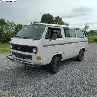 1985 Vanagon GL T3 Work Bus