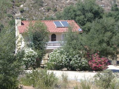 Alpine Spanish Style House  3br 2ba.