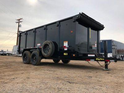 7x14 High Side Dump Trailer GVWR 17,500 lbs,