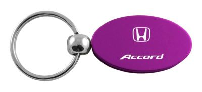 Sell Honda Accord Purple Oval Keychain / Key fob Engraved in USA Genuine motorcycle in San Tan Valley, Arizona, US, for US $14.61