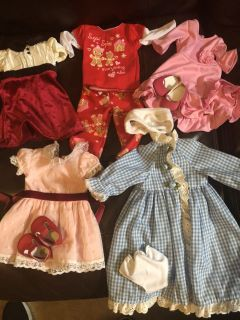 18 inch doll or American Girl Doll outfits