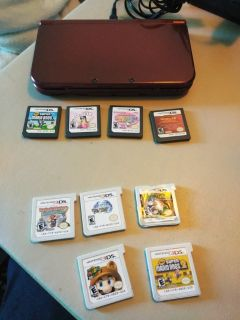Nintendo 3DS and D's games