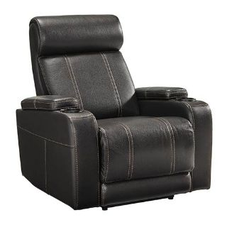 "Signature Design by Ashley ""Boyband"" Power Recliner GREAT CONDITION!! LIKE NEW!!"