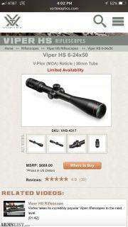 For Sale: Vortex Viper HS