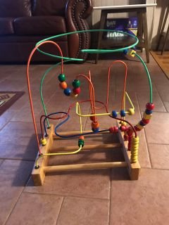 Bead and rod toy - cost $90 new