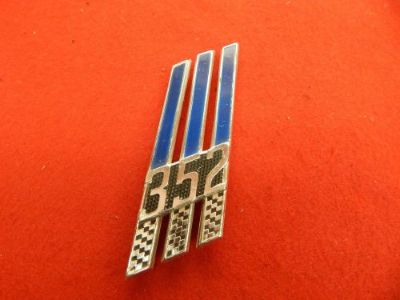 Sell USED 66 Ford Full Size RH 352 Front Fender Badge Emblem #C6AZ-16228-H motorcycle in Dewitt, Michigan, United States, for US $39.99