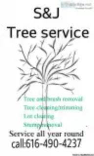 SandJ Tree service