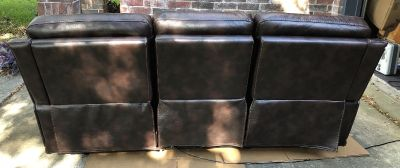 Gallery Furniture Electric reclining Three Person Sofa