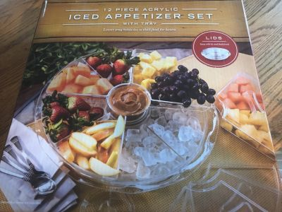Iced Appetizer Set - New in Box