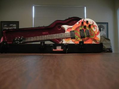 $899 NEW Collectors Guitar by Vince Neil, Snake design artwork, $899.00 New Price