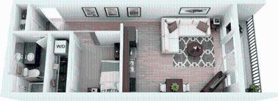 1 bedroom in Redmond