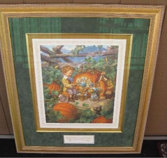 * ~ Peter, Peter, Pumpkin Eater by Scott Gustafson ~ Framed ~ *