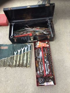 Assorted Tools with Tool Box
