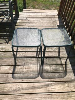 Patio tables set