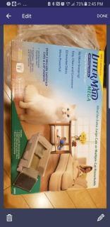 Self cleaning litter box for cat $50
