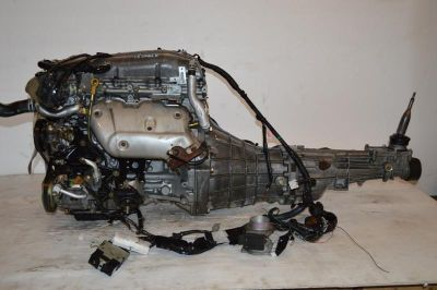Buy JDM NISSAN SILVIA 240SX SR20DE S14 NON TURBO ENGINE 5 SPEED TRANSMISSION WIRING motorcycle in Manassas, Virginia, US, for US $1,499.99