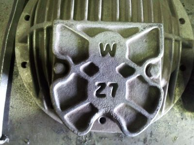 OLDSMOBILE W27 ALUMINUM DIFFERENTIAL COVER