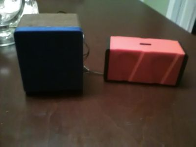 Two blue tooth speakers,mini