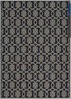 RUG Mohawk Home Colorpoint Indigo Indoor Inspirational Area Rug (Common: 5 x 7; Actual: 5-ft W x7ft