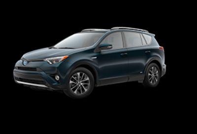 2018 Toyota RAV4 XLE Hybrid AWD-i (Galactic Aqua Mica)