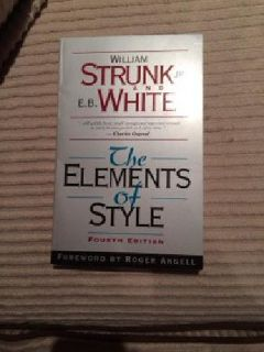 $8 The Elements of Style by Strunk and White