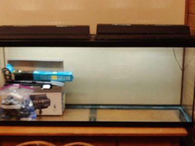 55 Gal Fish Tank and Accessories