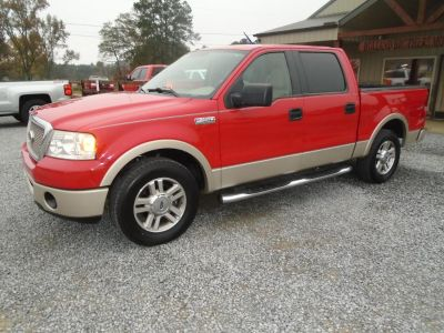 2008 Ford F-150 King Ranch (RED)